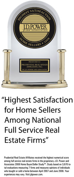 J.D. Power and Associates Ranks Prudential Number One With Sellers